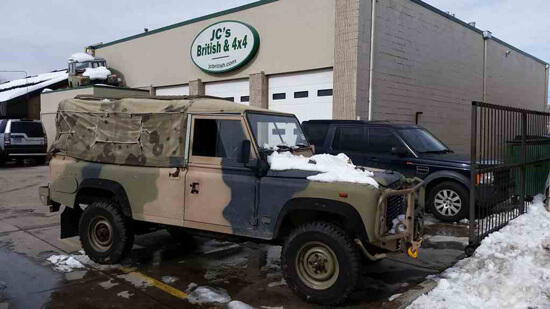 A unique Defender comes to JC's British & 4×4